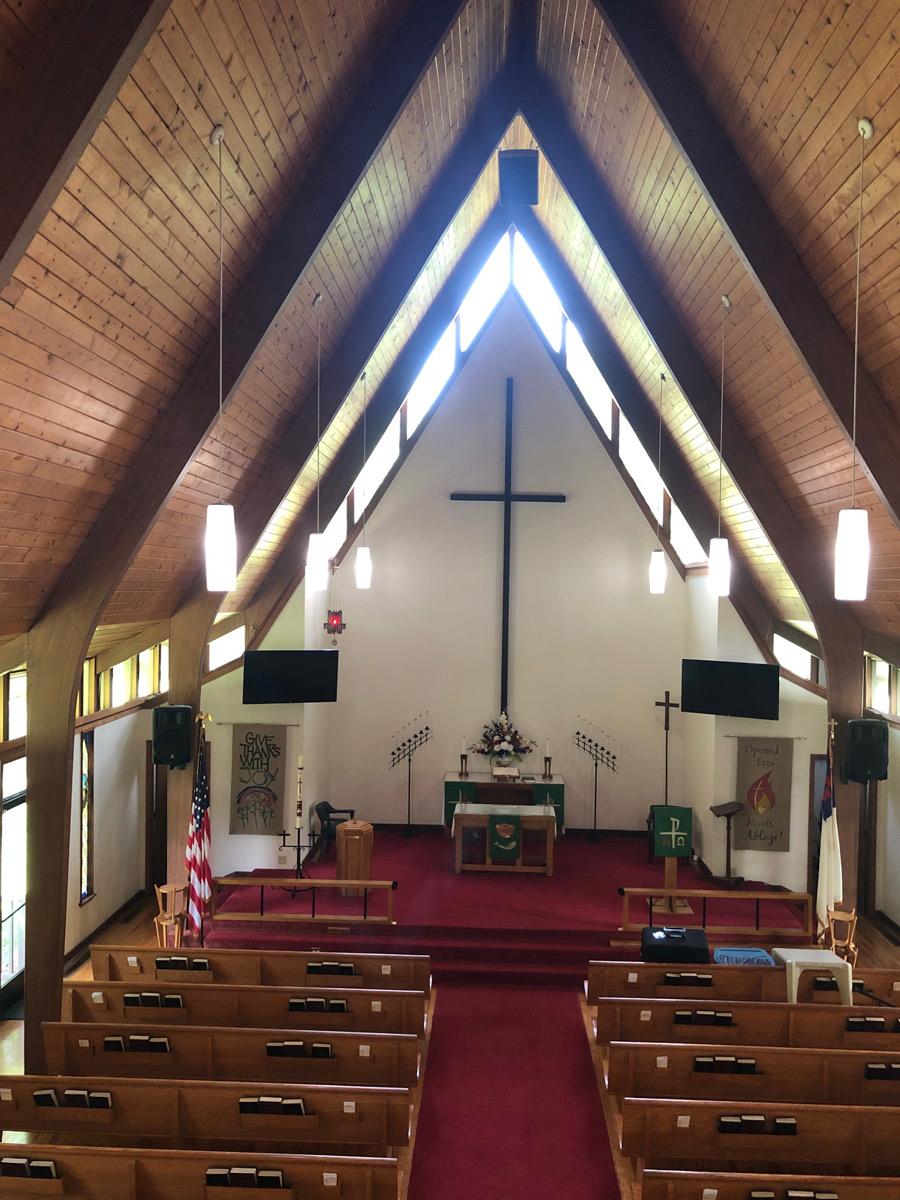 Trinity Lutheran, Columbia, TC - Allen CF-10