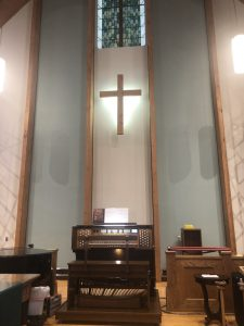 Community Church at Tellico Village, Loudon, TN - Allen GX-335eDK
