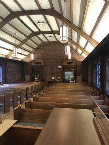 Sequoyah Hills Presbyterian Chapel, Knoxville, TN - Allen GX-215 speakers installation