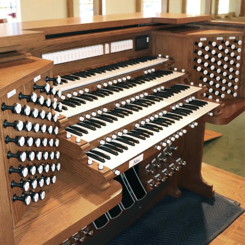 Sequoyah Hills Presbyterian Church, Knoxville, TN - Allen Custom Four-Manual