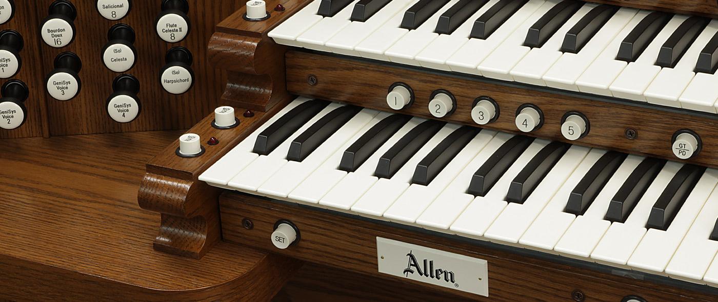 Digital Organs & Pipe Organ Consoles